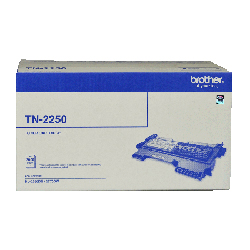 Brother TN-2250 Toner Cartridge - 2,600 pages