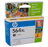 HP  564XL Photo Black Ink Cartridge - - 290pgs of 4x6