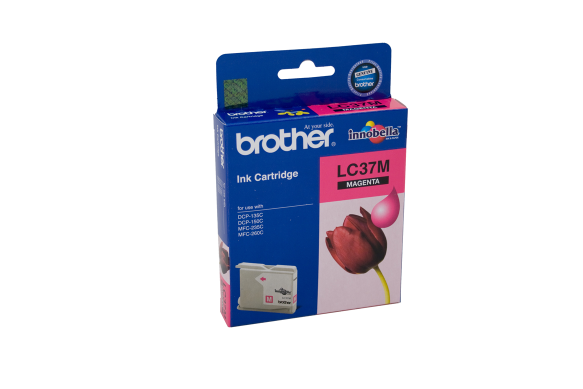 Brother LC-37M Magenta Ink Cartridge - 300 pages