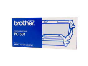 Brother PC-501 Print Cartridge + 1 roll