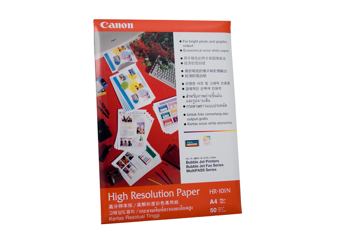 Canon High Resolution Paper A4 50 Sheets 106gsm