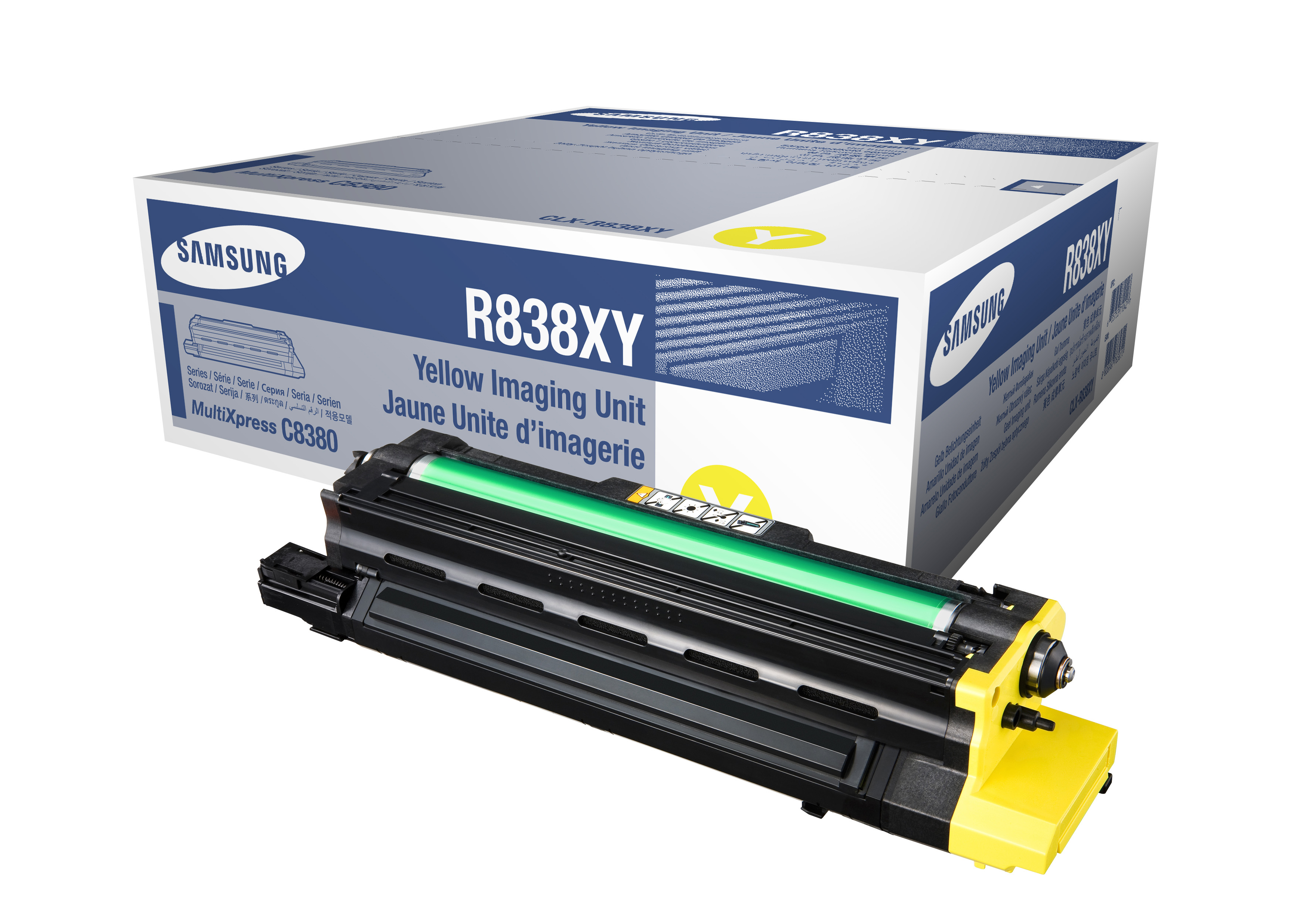 Samsung CLX-8380 Yellow Imaging Unit - 30,000 pages @ 5%