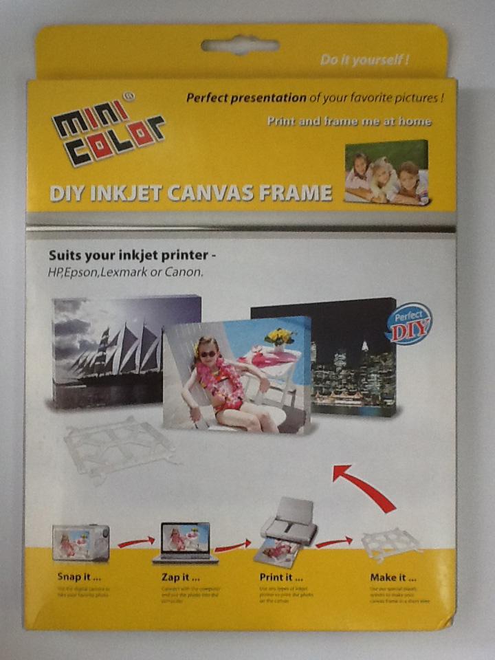 Diy inkjet canvas frame austech toner solutions townsville solutioingenieria Images