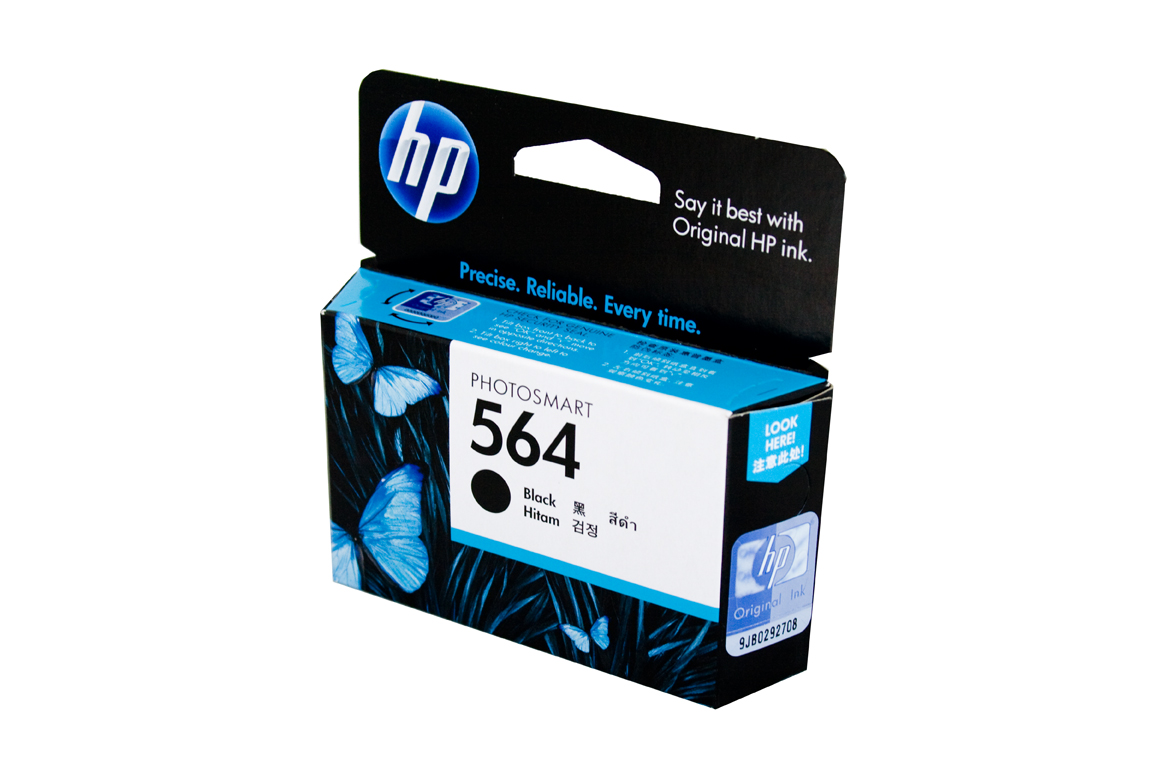 HP  564 Black ink Cartridge - - 250 pgs