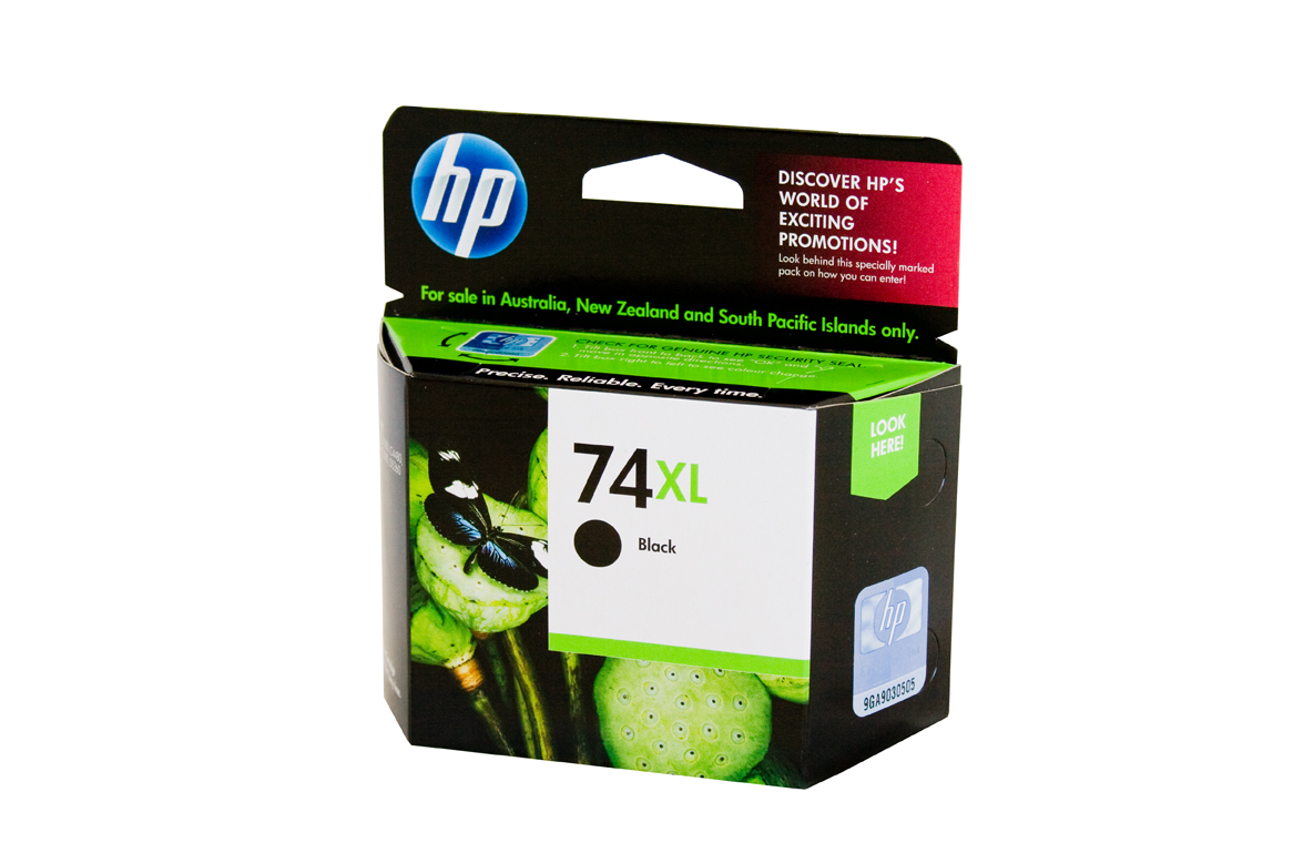 HP 74XL Black Ink Cartridge - 750 pages