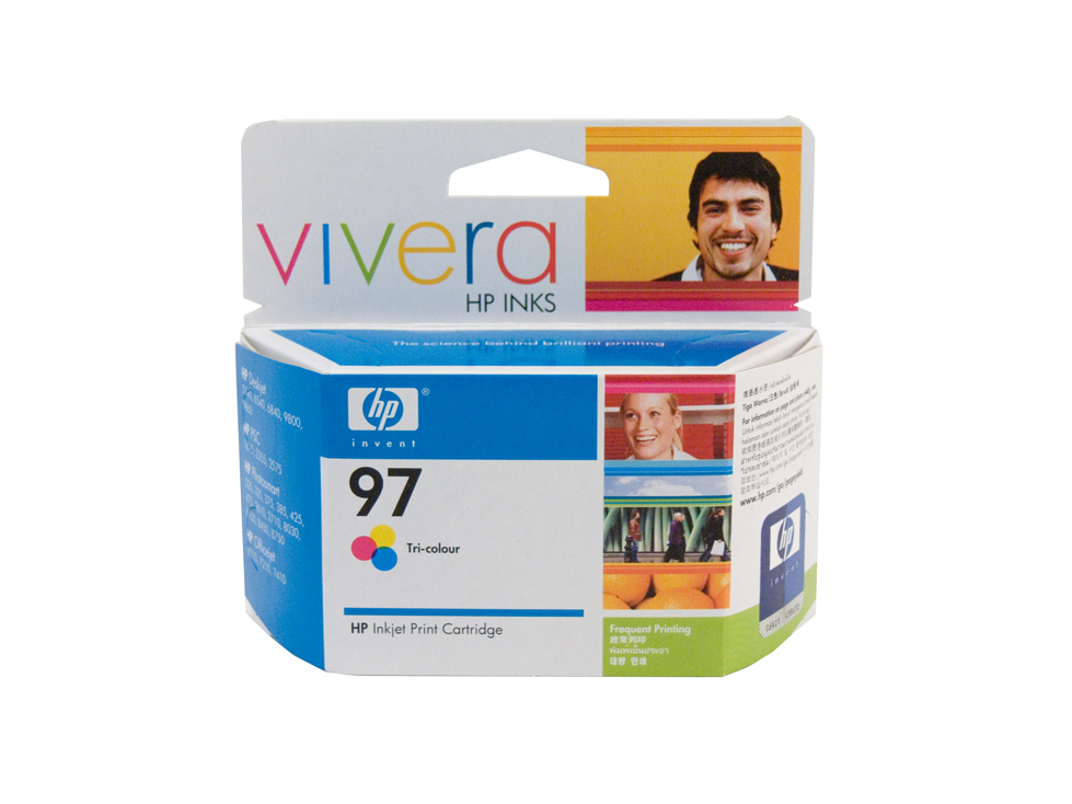 HP 97 Colour Ink Cartridge - 14ml - 450 pages