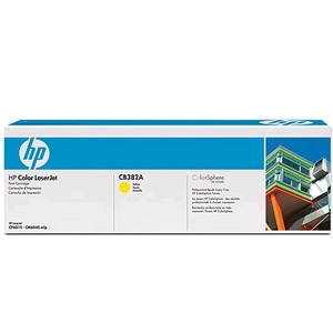 CB382A For HP CP6030 / CM6040MFP Yellow Toner Cartridge - 21,000