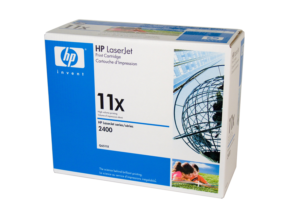 HP 11X Toner Cartridge - 12,000 pages