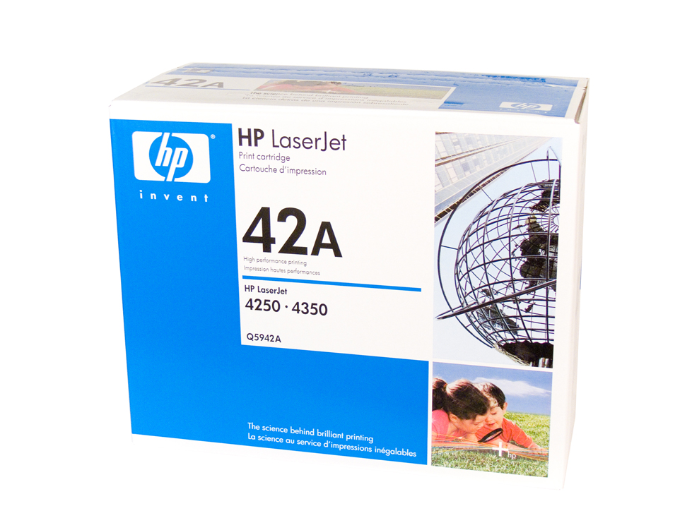 HP 42A Toner Cartridge - 10,000 pages
