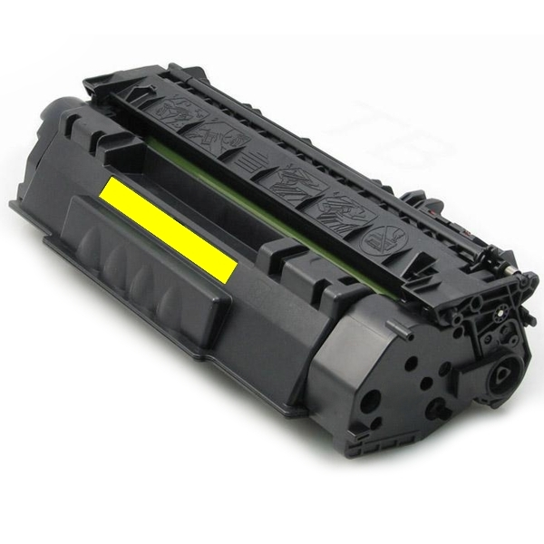 White-box, Dell 1320 Yellow Toner Cartridge - 2,000 pages (Compa