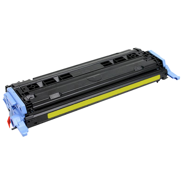 White-box, HP Q6002A Yellow Toner Cartridge (Remanufactured) - 2