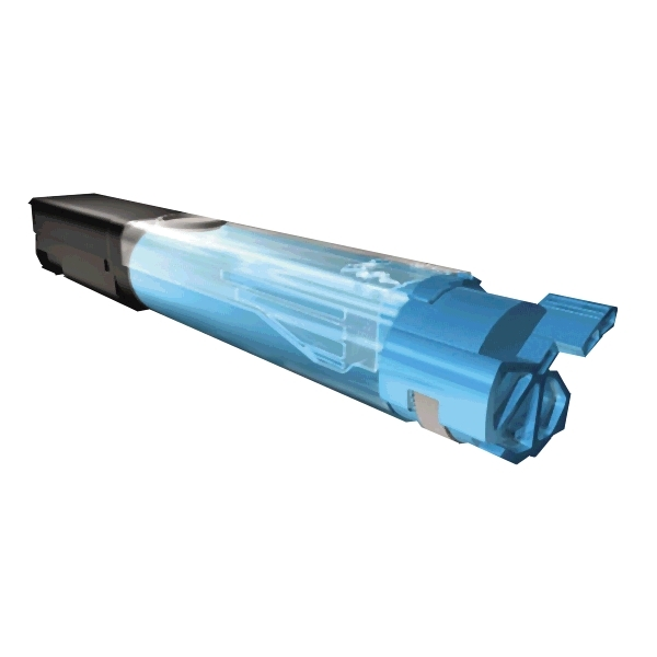 Compatible, Oki C3300 / 3400 Cyan Toner Cartridge - 1,000 pages