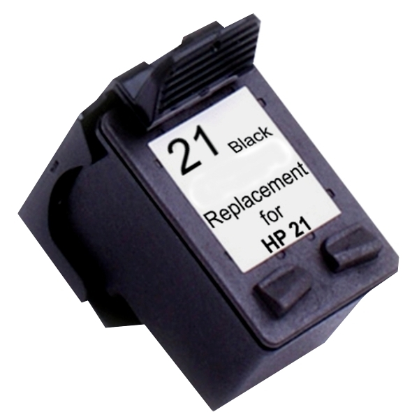 Compatible HP No.21 Black Ink Cartridge - 150 pages