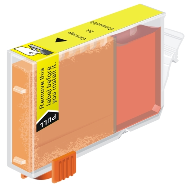 Compatible Canon CLI-8Y Yellow Ink Tank    - With Chip