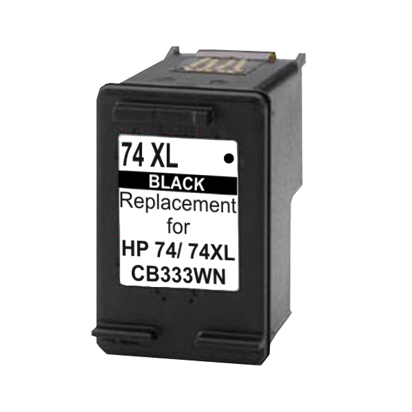 Compatible HP No.74XL Black Ink Cartridge - 750 pages