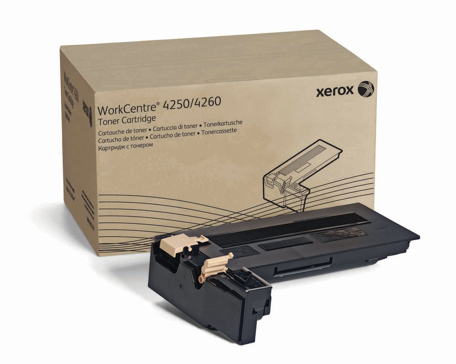 Xerox Workcentre 4250 Toner Cartridge - 25,000 pages