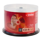 Imation CD-R 1x-52x 700mb - 50 Spindle(inkjet printables)